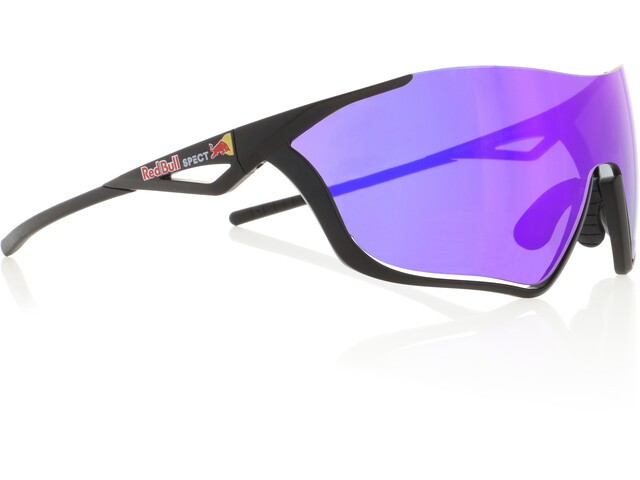 Red Bull SPECT Flow Sonnenbrille matte black/grey-purple
